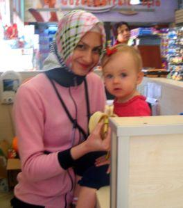 Ellie's favorite cashier.